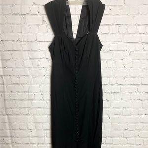 JS Collections Black Dress